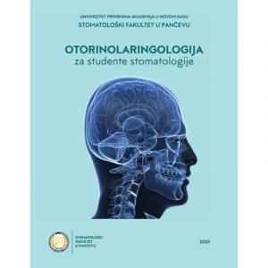 Otorinolaringologija za studente stomatologije, korica